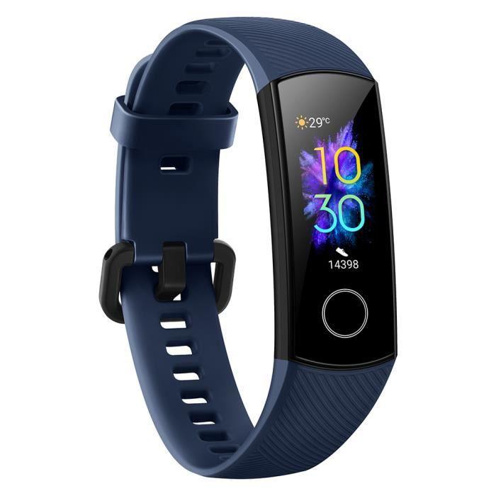 HONOR Band 5 0,95 -Grand écran couleur AMOLED Smart Fitness Bracelet 240 * 120 Pixel Smart Timer réglable Données de sommeil