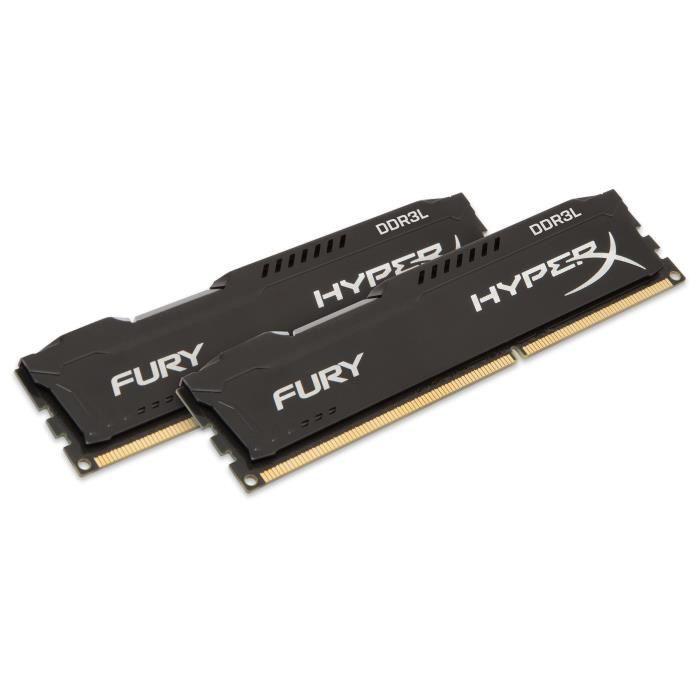 HyperX FURY Memory Low Voltage 8GB DDR3L 1866MHz Kit