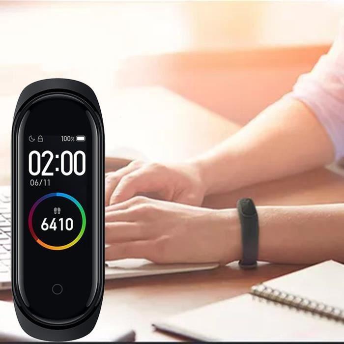 Bracelet intelligent XiaoMi 4 de sport de fréquence cardiaque d'écran de couleur SUIVI ACTIVITES QUOTIDIENNES