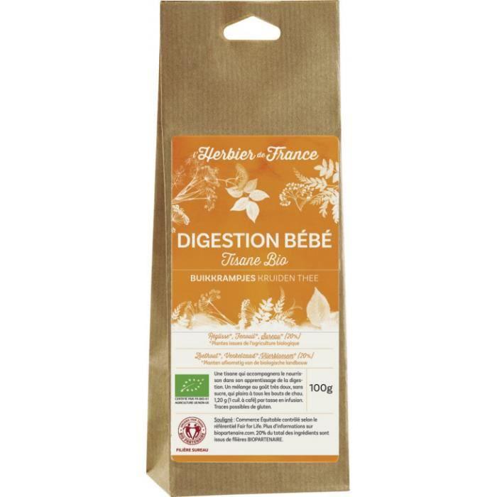 Herbier De France Melange digestion bebe sachet…