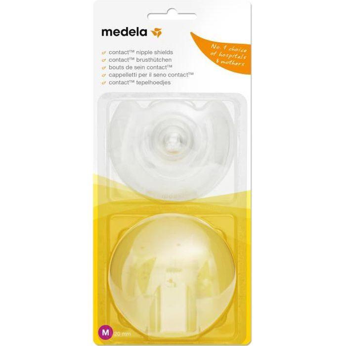 MEDELA Bouts de sein Contact™ Taille M (Boîte de 2)