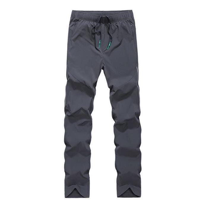 Pantalon de Randonnée Homme Montagne Casual Pantalon Léger Respirant Séchage Rapide
