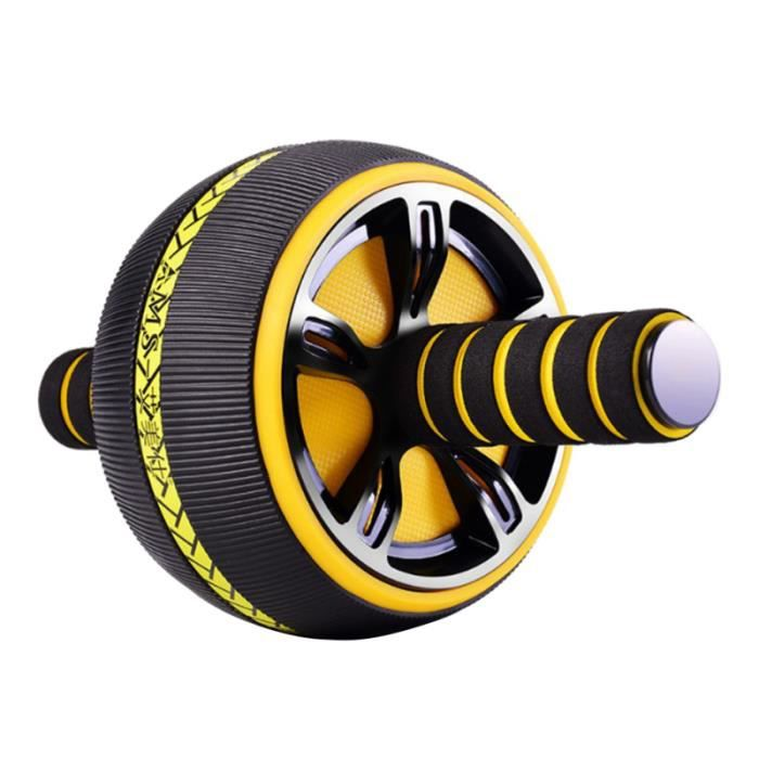 Portable Ab Roller Abdominal Exercise Wheel Workout Equipment and Fitness for Core Strength Training APPAREIL ABDO - PLANCHE ABDO