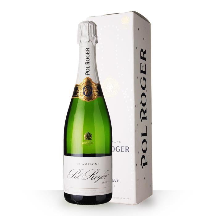 Pol Roger Brut Réserve 75cl - Etui - Champagne