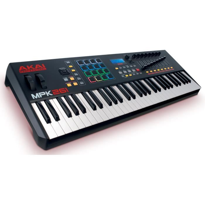 clavier ma tre 61 notes 16 pads usb midi interface audio midi avis et prix pas cher cdiscount. Black Bedroom Furniture Sets. Home Design Ideas