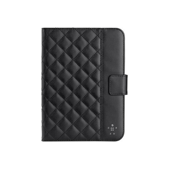 Housse ipad mini belkin matelass e noire quilted achat for Housse i pad mini
