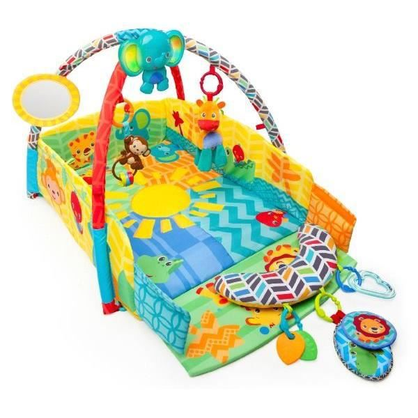 tapis d veil sunny safari baby play place achat vente. Black Bedroom Furniture Sets. Home Design Ideas