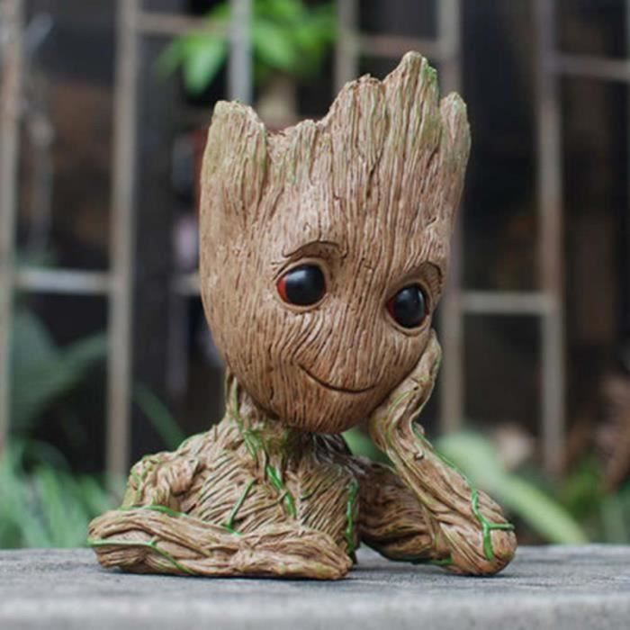Guardians of the Galaxy Vol 2 Baby Groot Mini Figure Figurine Toys Ensemble Cadeau