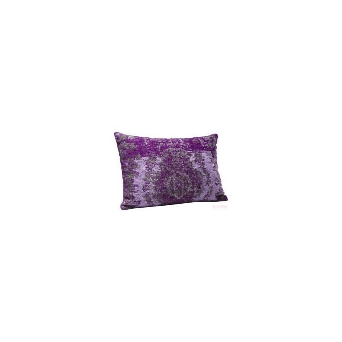 coussin kelim pop violet 60x40 kare design achat vente. Black Bedroom Furniture Sets. Home Design Ideas