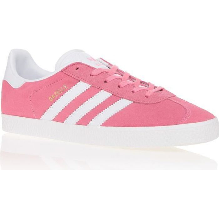 BASKET CHAUSSURES ADIDAS GAZELLE J ROSE BY9145