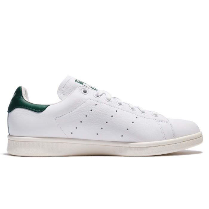 sneakers homme blanche cuir adidas