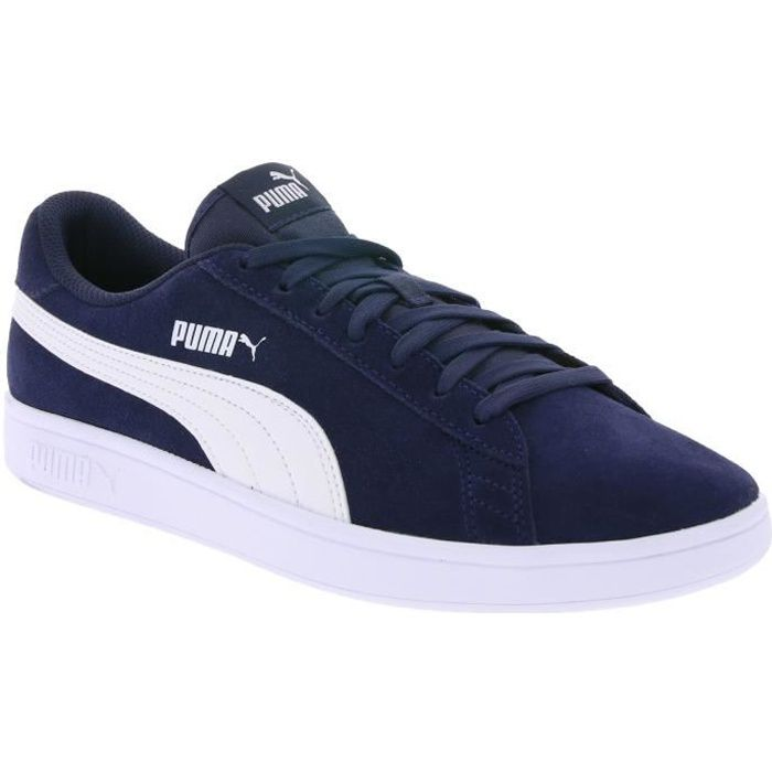 BASKET PUMA Real Leather Sneaker Chaussures Homme Smash v