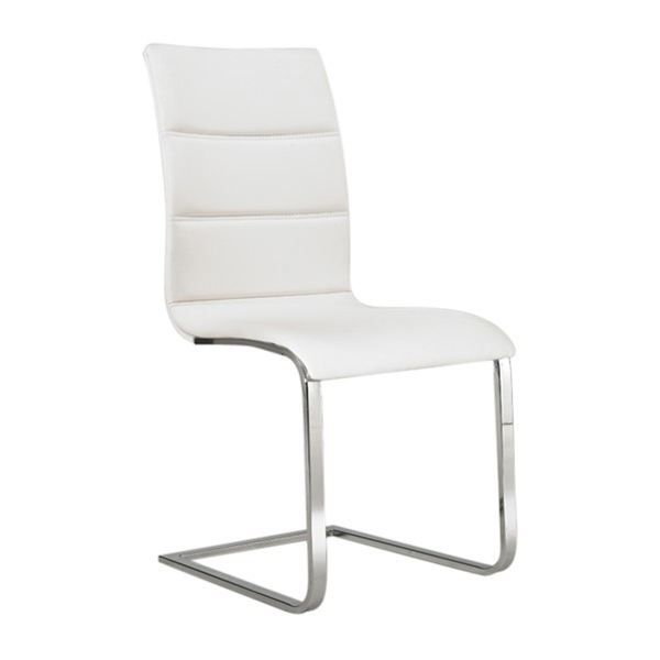 chaise design sydney blanche achat vente chaise blanc cdiscount. Black Bedroom Furniture Sets. Home Design Ideas