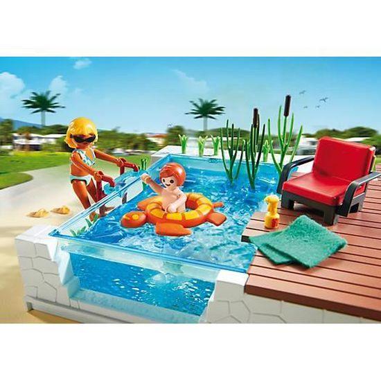 Playmobil 5575 Piscine Avec Terrasse