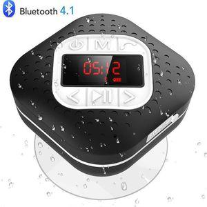 ENCEINTE NOMADE Enceinte de Douche Bluetooth 4.1 Stéréo HIFI, Haut
