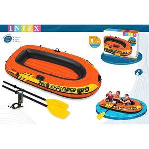 JEUX DE PISCINE Barque gonflable Explorer+rames+gonflable 2mt