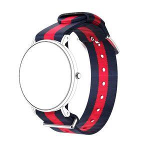 BRACELET DE MONTRE Bracelet ®Nylon Montre bracelet bande pour Daniel