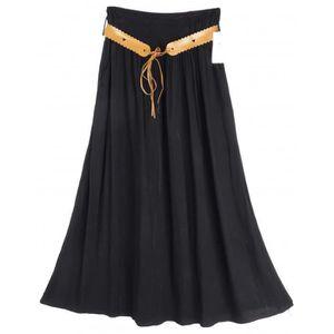 JUPE Jupe longue évasée  Camilla - couleur : noir - Tai