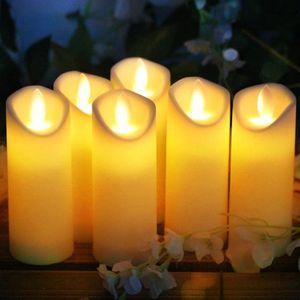 12Pcs Rameng 12Pcs Bougies /à Led Th/é light Chandelle Sans Flamme Decoration pour Table et Anniversaire