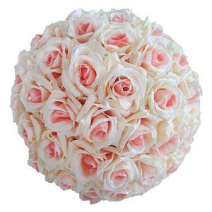 FLEUR ARTIFICIELLE Imitation Rose Fleur Boule Fleur Artificielle Rose