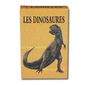 CARTES DE JEU Jeu de 7 familles - Les Dinosaures