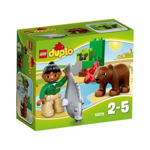 ASSEMBLAGE CONSTRUCTION LEGO DUPLO 10576 Le Repas de l'Ours Brun