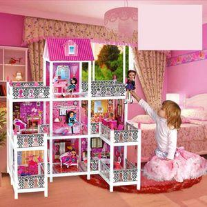 Maison barbie en bois - Achat / Vente jeux et jouets pas chers