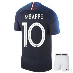 maillot mbappe n 10 coupe du monde 2018 avec short chaussettes enfant 10 ans 140cm environ. Black Bedroom Furniture Sets. Home Design Ideas