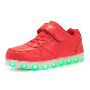 BASKET LED allumé chaussures enfants garçons et filles US