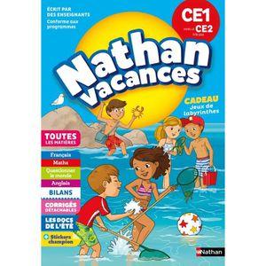 DOCUMENTAIRE ENFANT NATHAN VACANCES PRIMAIRE Cahier de Vacances 2018 d