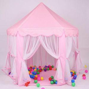 TENTE TUNNEL D'ACTIVITÉ Tente enfant Chateau Disney Princess jeu de tente