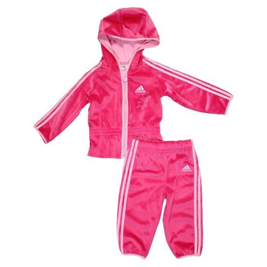 ecd833ba52663 Bebe Survetement Vegetal info Adidas Rose oleo Et Noir Fille Vinny HHS5qwr