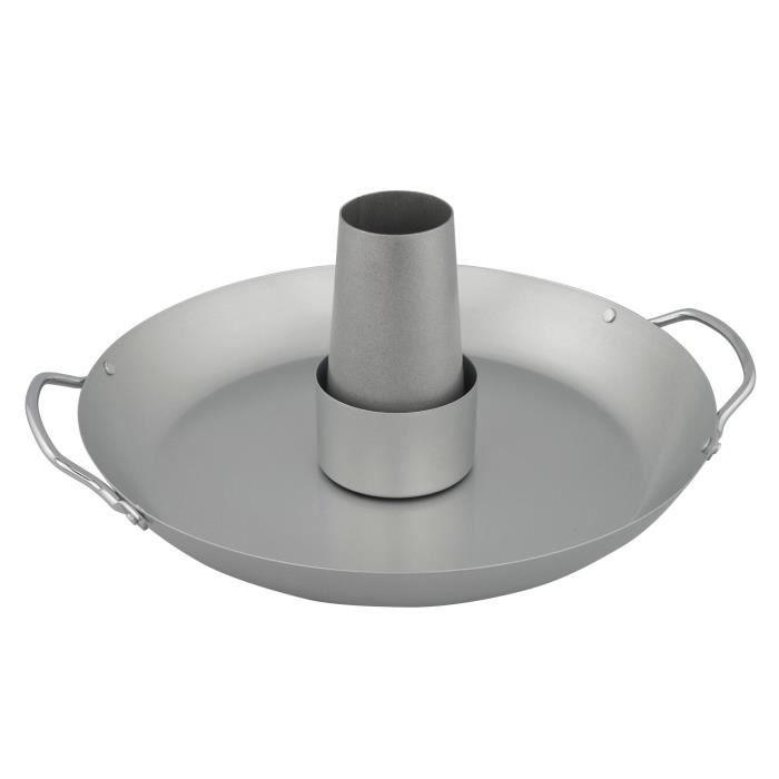 CAMPINGAZ Plat de cuisson verticale pour volaille - Inox - 31 x 37 cm