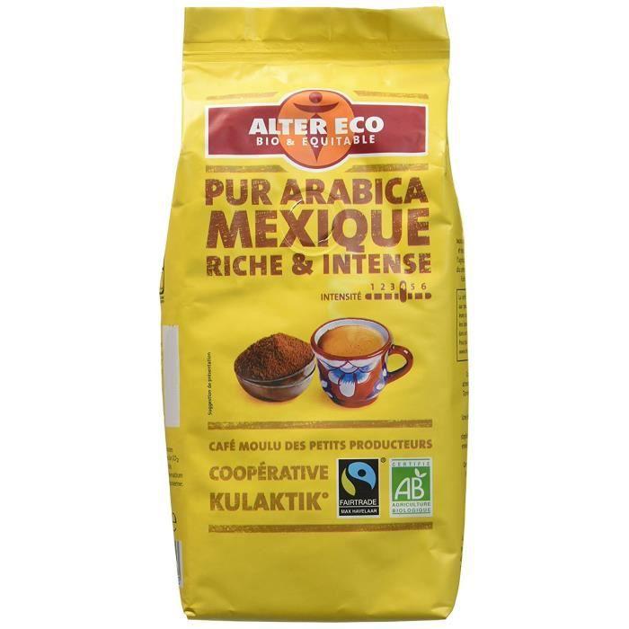 Alter Eco Café Mexique 100% Arabica - Lot de 3
