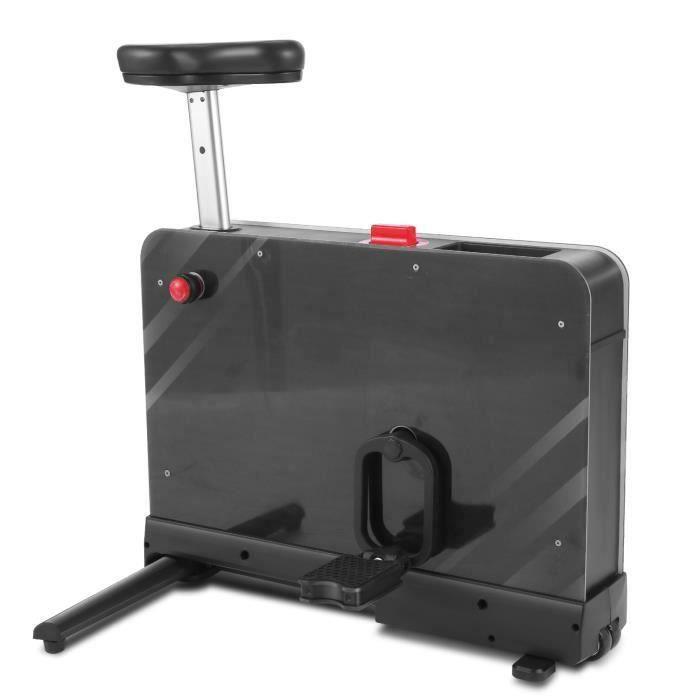 Vélo d'appartement de Fitness, Vélo d'Intérieur avec 8 Niveaux Résistance Magnétique pour Maison/Bureau, Charge Maximale: 265 lbs