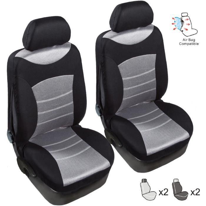 Couvre-sièges TIROL Automobiles Couvre-siège de voiture complet Accessoires intérieurs universels 7