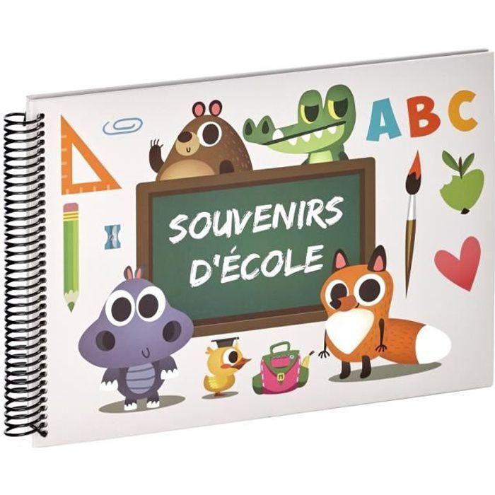 EMOTION Album photo scolaire ABC Souvenirs d'école 32x24 cm