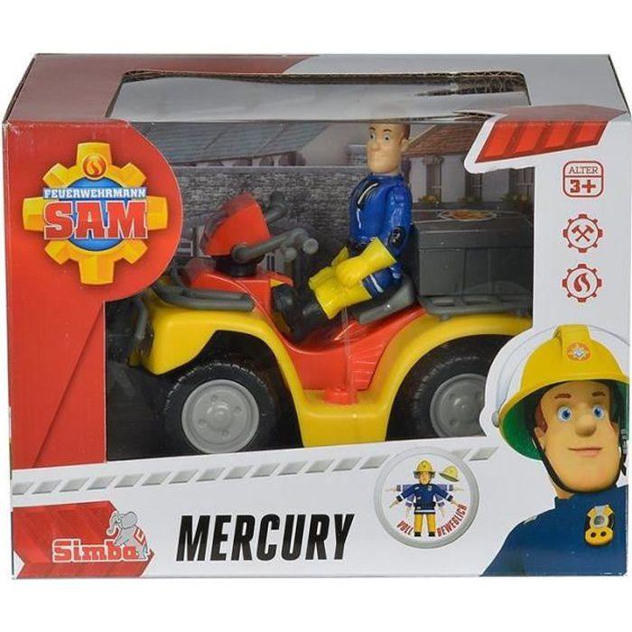 Simba Toys 109257657 Mercure Quad avec figurine