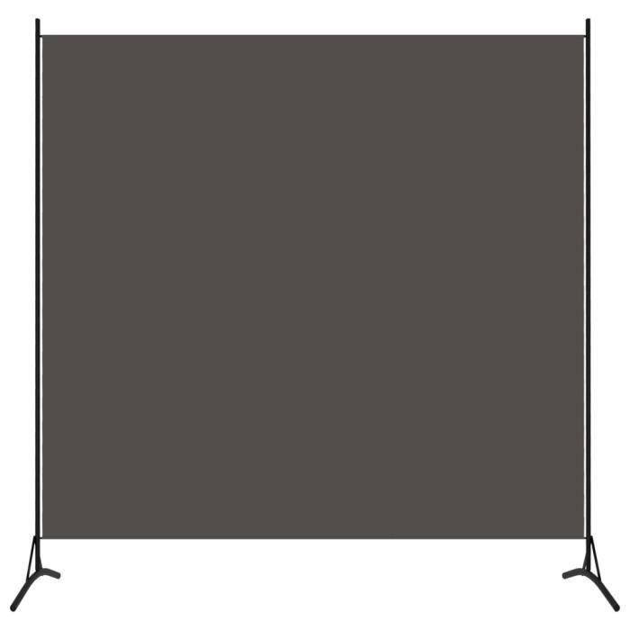 Contemporain -Cloison de séparation - Séparation de pièces Paravent extérieur - 1 panneau Anthracite 175x180 cm #528272