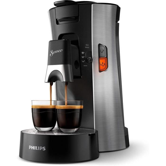 Philips CSA250-11 machine à café dosettes SENSEO select - Modèle premium acier brossé 964