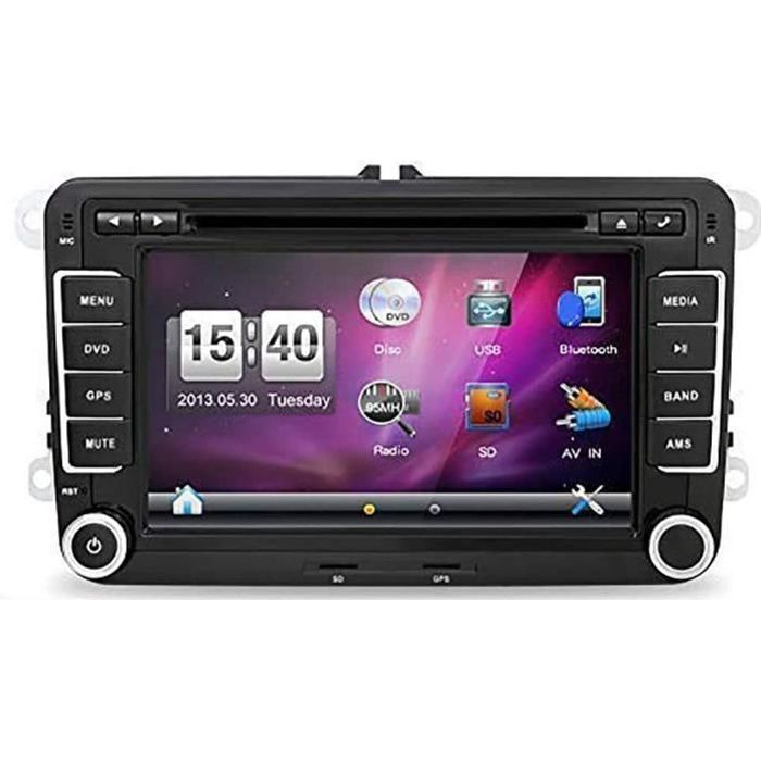 AUTORADIO Windows CE 6.0 7- 2DIN Car DVD Player GPS Stereo Navigation for VW Golf 4 5 6 Passatcc Polo Jetta Tiguan Touran EOS 295
