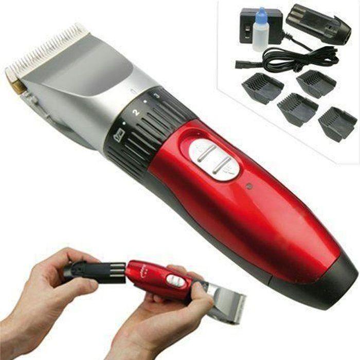 Tondeuse à cheveux sans fil, rechargeable