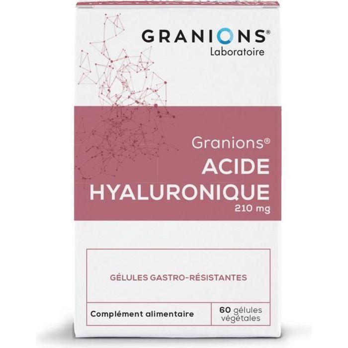 GRANIONS® ACIDE HYALURONIQUE (BTE 60 GÉLULES)