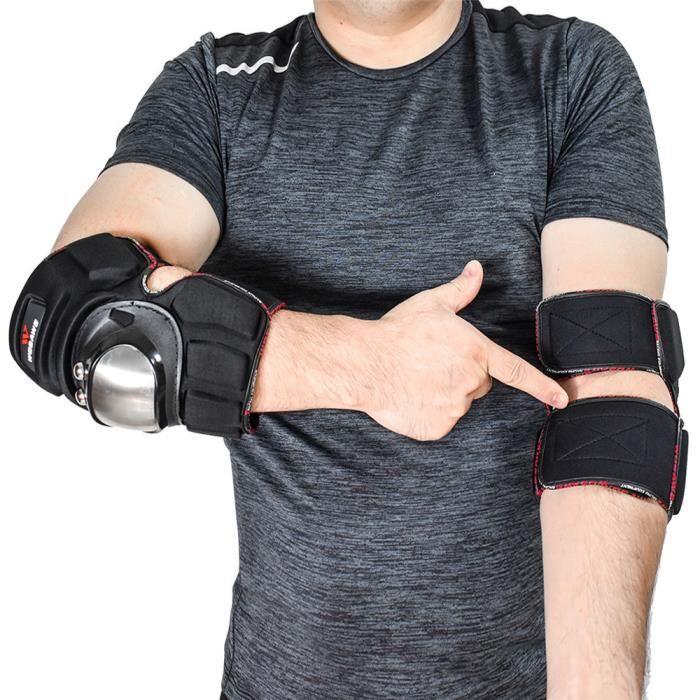 PROTEGE-CHEVILLES - CHEVILLERE,WOSAWE moto genouillères EVA équipement de Protection coude bras Protection ensemble - Type BC344