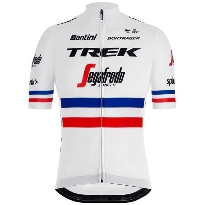 Maillot manches courtes , France Maillot de cyclisme Champion