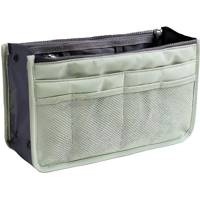 Organiseur de sac à main, Pochette Sac de Rangement intérieur pour Sac à Main ( Menthe )
