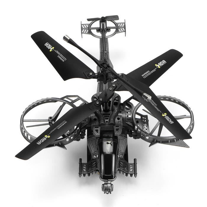 OSPREY YD-713 Hélicoptère Drone RC IR 3.5 Channels LED Avion Quadcopter Jouet