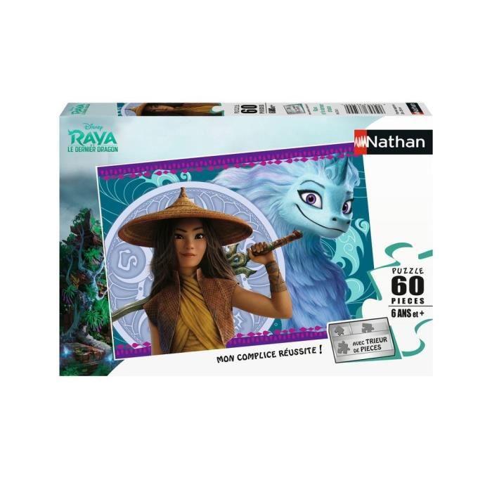 Puzzle 60 p - Disney Raya et le dernier dragon