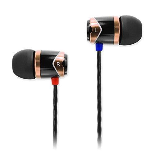 SoundMagic E10 Écouteurs Intra Auriculaires Oreillettes Filaire Haute Qualité Stéréo Audio Anti-Bruit Ca