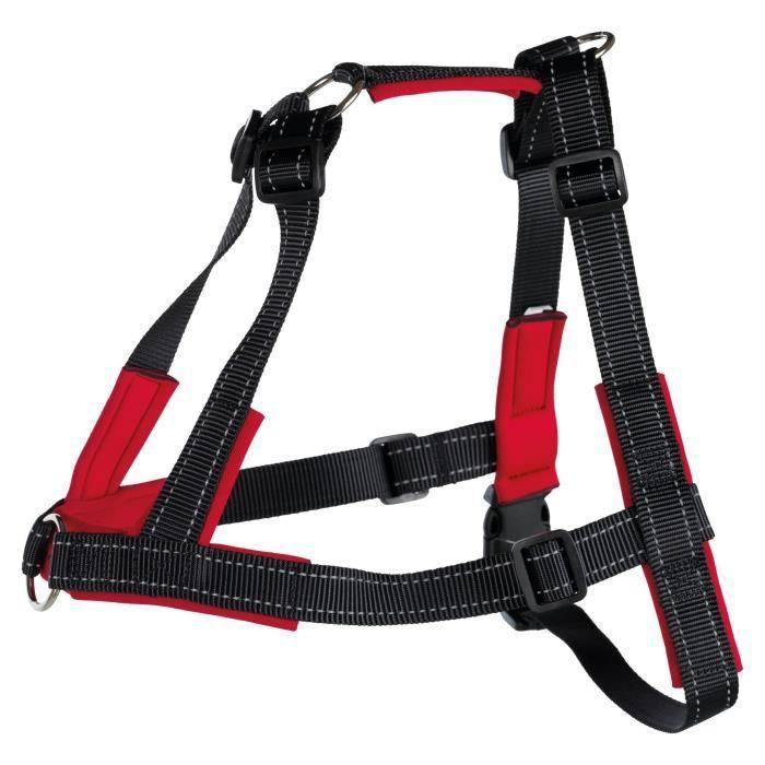 TRIXIE Harnais d'entraînement Lead'n'Walk Soft - Taille L-XL - Pour chien